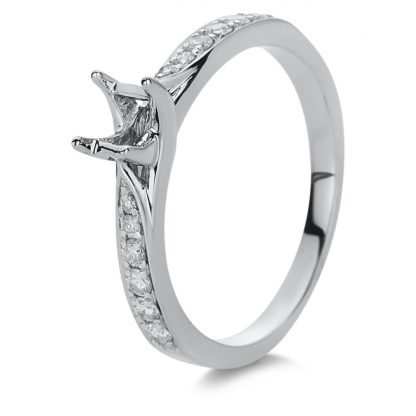 18 kt white gold mounting with 12 diamonds 1B891W853-1
