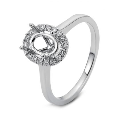 18 kt white gold mounting with 18 diamonds 1B126W853-3