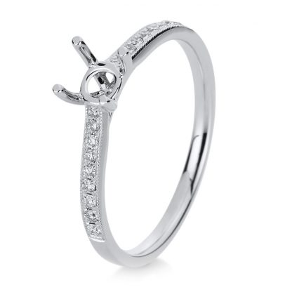 18 kt white gold mounting with 18 diamonds 1B168W853-11