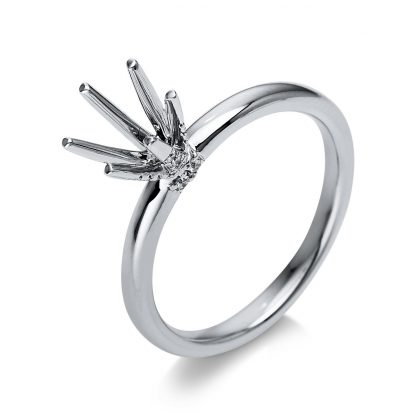 18 kt white gold mounting with 28 diamonds 1S612W853-1