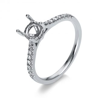 18 kt white gold mounting with 28 diamonds 1S622W853-1