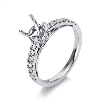 18 kt white gold mounting with 32 diamonds 1S626W853-1