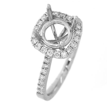 18 kt white gold mounting with 36 diamonds 1B042W855-2