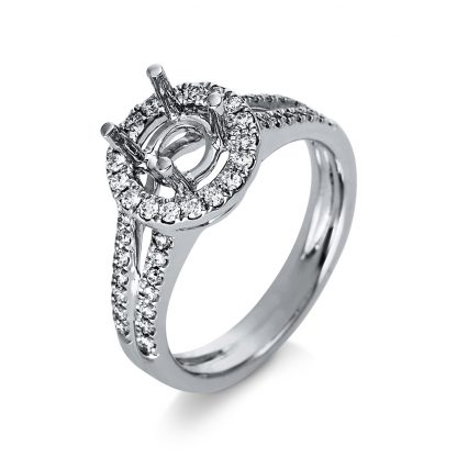 18 kt white gold mounting with 46 diamonds 1D647W853-4
