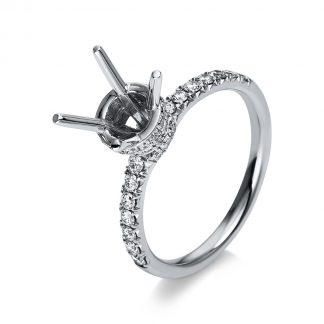 18 kt white gold mounting with 56 diamonds 1S629W853-1