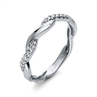 18 kt white gold multi stone with 18 diamonds 1Q381W855-2