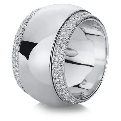 18 kt white gold multi stone with 200 diamonds 1A718W857-1