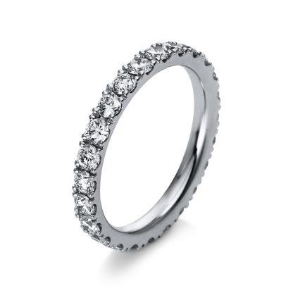 18 kt white gold multi stone with 24 diamonds 1R910W854-3