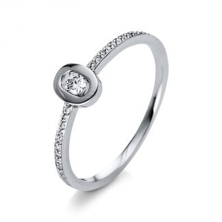 18 kt white gold multi stone with 25 diamonds 1Q383W855-2