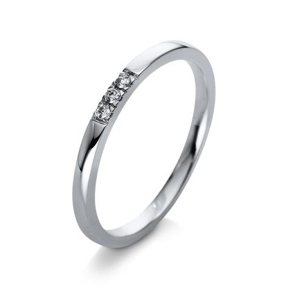 18 kt white gold multi stone with 3 diamonds 1Q779W854-1