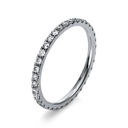 18 kt white gold multi stone with 36 diamonds 1R904W854-1