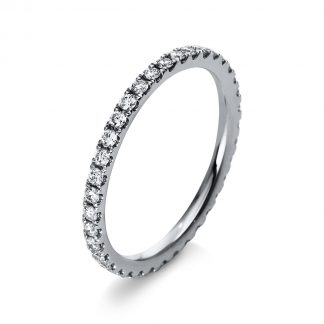 18 kt white gold multi stone with 37 diamonds 1R903W854-1