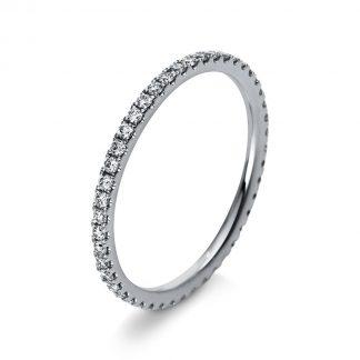 18 kt white gold multi stone with 46 diamonds 1R902W854-1
