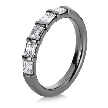 18 kt white gold multi stone with 5 diamonds 1A785W856-2