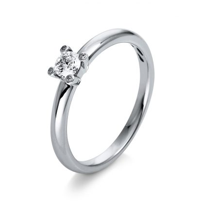 18 kt white gold multi stone with 5 diamonds 1Q397W854-1