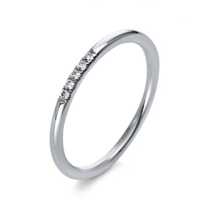 18 kt white gold multi stone with 5 diamonds 1Q765W854-1