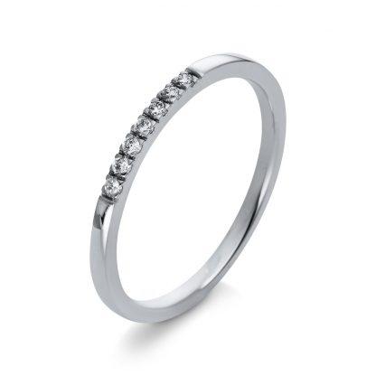 18 kt white gold multi stone with 7 diamonds 1Q781W854-1