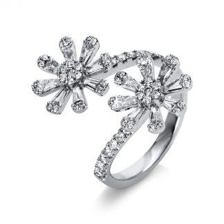 18 kt white gold multi stone with 78 diamonds 1O670W854-1