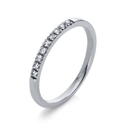 18 kt white gold multi stone with 9 diamonds 1Q782W854-1