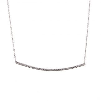 18 kt white gold necklace  4A075W8-1