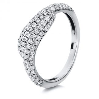 18 kt white gold pavé with 108 diamonds 1A052W854-1