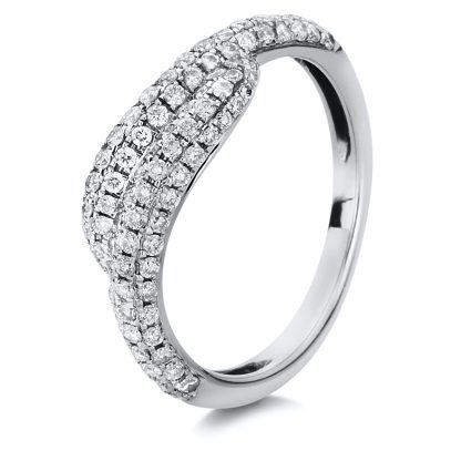 18 kt white gold pavé with 108 diamonds 1A052W854-1