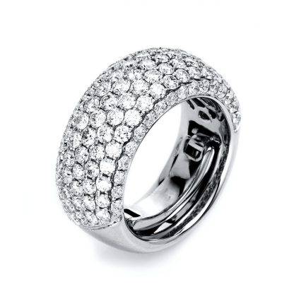 18 kt white gold pavé with 119 diamonds 1L141W854-1