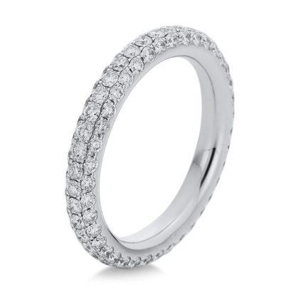 18 kt white gold pavé with 123 diamonds 1C938W856-1