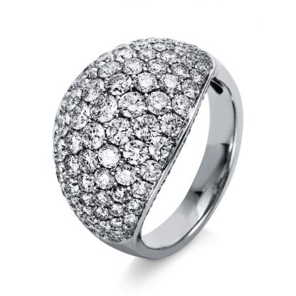 18 kt white gold pavé with 147 diamonds 1P000W853-1