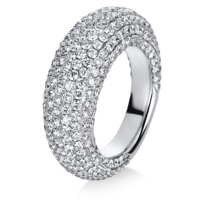18 kt white gold pavé with 329 diamonds 1C260W854-1