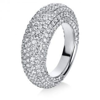18 kt white gold pavé with 329 diamonds 1C260W856-1