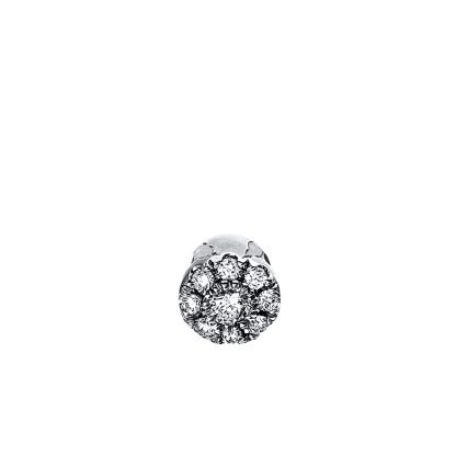 18 kt white gold pendant with 9 diamonds 3C875W8-1