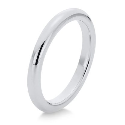 18 kt white gold plain  1A364W854-2