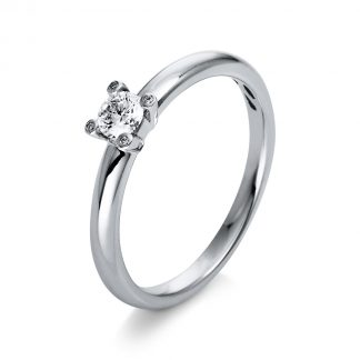 18 kt white gold solitaire with 5 diamonds 1Q397W855-2