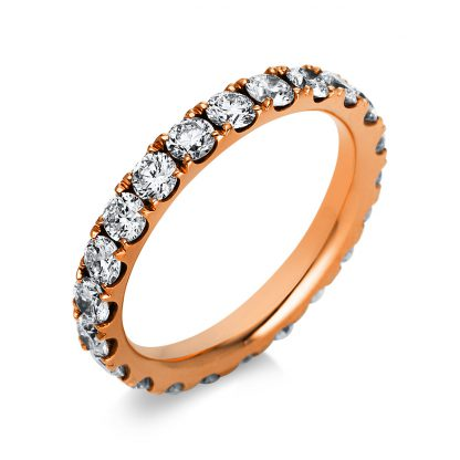 18 kt yellow gold eternity full with 22 diamonds 1A964G854-2