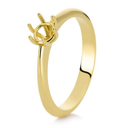 18 kt yellow gold mounting  1C887G854-2