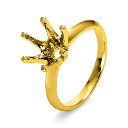 18 kt yellow gold mounting  1L375G853-1