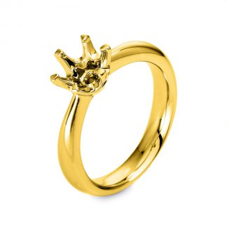 18 kt yellow gold mounting  1M262G852-1