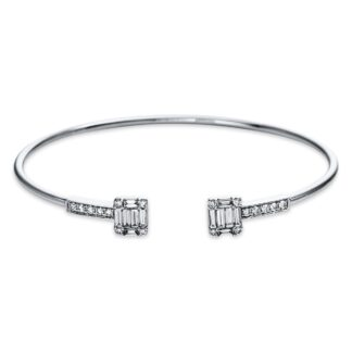 White gold bracelet with diamonds O6-44122 01