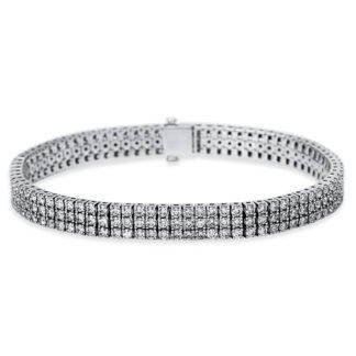18 kt fehérarany karkötő 240 gyémánttal 5B914W8-1