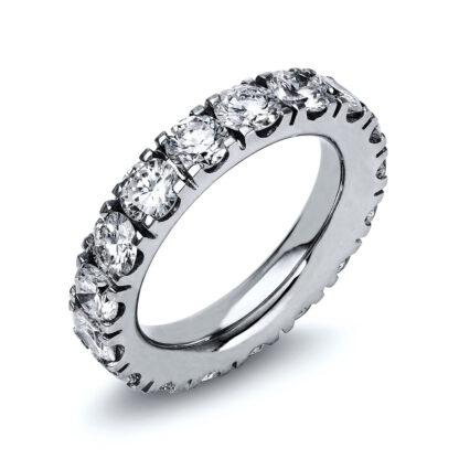 18 kt fehérarany körbe köves eternity 17 gyémánttal 1M245W852-1