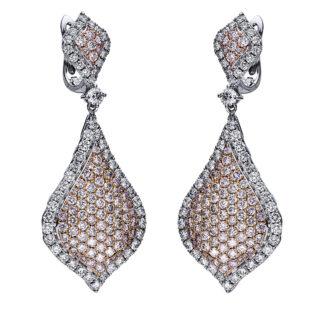 14 kt  earrings with 264 diamonds 2I734WR4-1