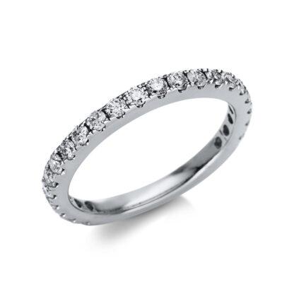 14 kt fehérarany félig köves eternity 23 gyémánttal 1U233W454-1