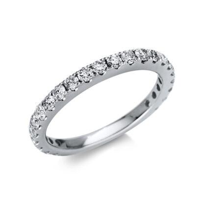 14 kt fehérarany félig köves eternity 23 gyémánttal 1U238W454-1