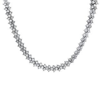 14 kt fehérarany nyaklánc 315 gyémánttal 4F516W4-1
