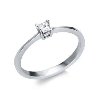 14 kt fehérarany szoliter 1 gyémánttal 1U595W452-1