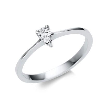 14 kt fehérarany szoliter 1 gyémánttal 1U600W452-1
