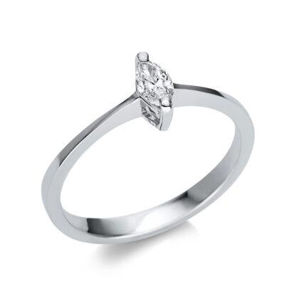 14 kt fehérarany szoliter 1 gyémánttal 1U603W452-1