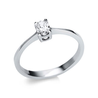 14 kt fehérarany szoliter 1 gyémánttal 1U607W452-1