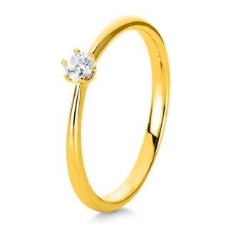 14 kt V arany szoliter 1 gyémánttal 1C477G455-4